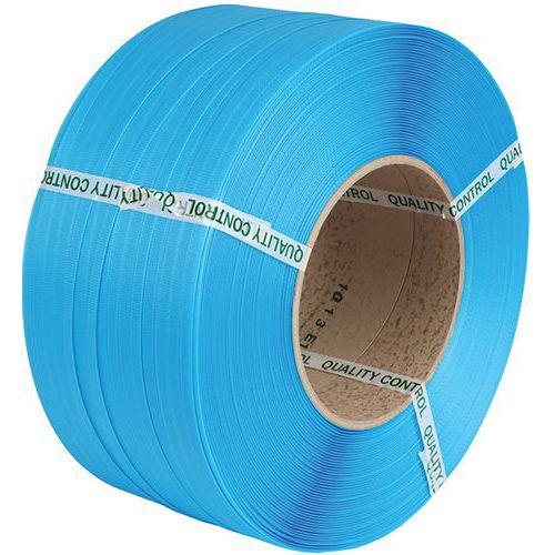Feuillard PP machine 8 X 0,55 mm D200 4000 m Bleu