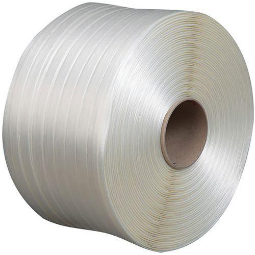 Feuillard textile fil à fil 25 mm 500 m