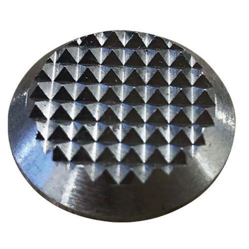 Plot podotactile antidérapant en Inox Effet Diamant