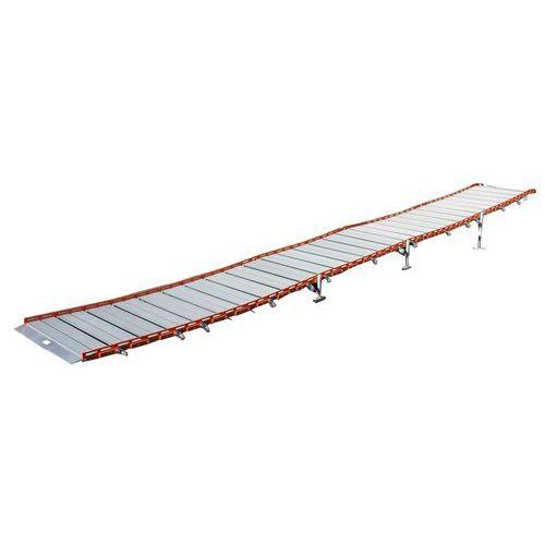 Rampe d'accès enroulable aluminium Roll