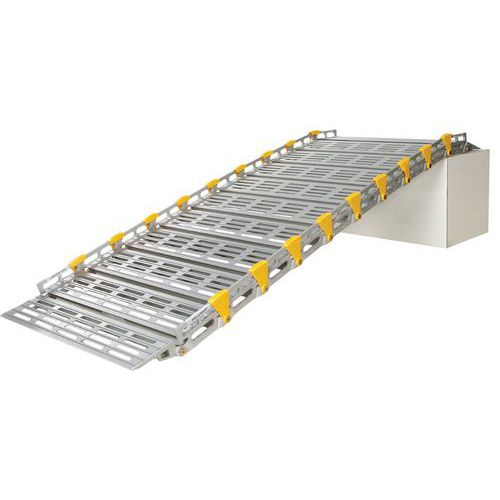 Rampe d'accès enroulable en aluminium ROLL-a-RAMP