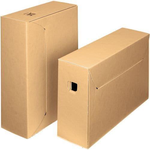 Boîte d'archives en carton ondulé City 10+ - Bankers Box