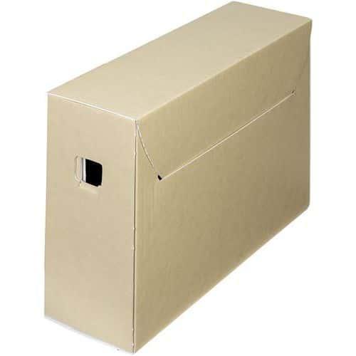 Boîte d'archives en carton ondulé City 30+ - Bankers Box