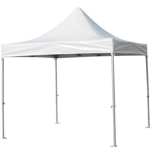 Tente parapluie réception alu toit PVC Galo