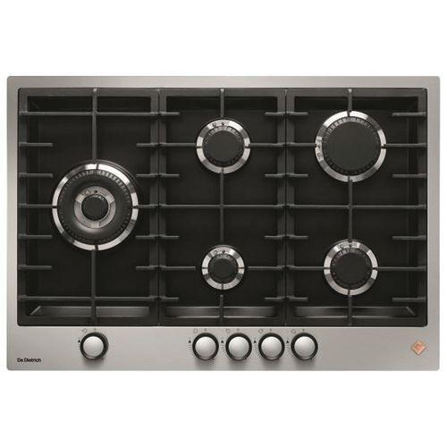 Table de cuisson gaz DE DIETRICH - DPE7729XF - L.75 cm-inox