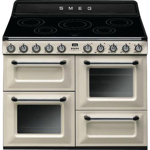 Piano de cuisson induction SMEG - TR4110IP - L.110 cm- crème
