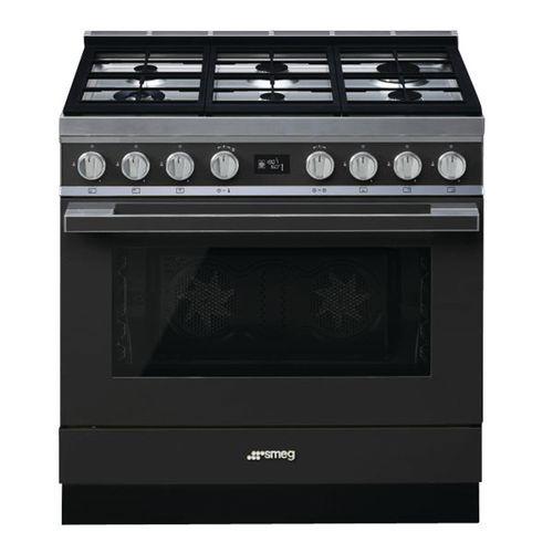 Piano de cuisson mixte SMEG - CPF9GMAN - L.90 cm- noir