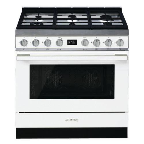 Piano de cuisson mixte SMEG - CPF9GMWH - L.90 cm- blanc