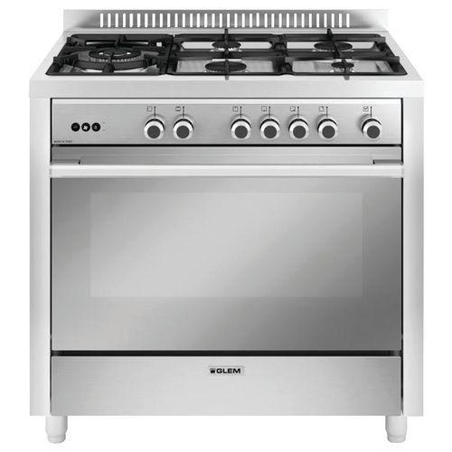 Piano de cuisson gaz GLEM - GX960CQIX - L.90 cm- inox