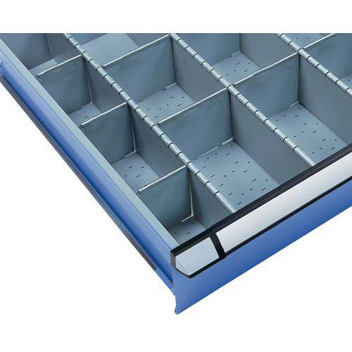Lot de 95 séparateurs pour armoires à tiroirs Thurmetall