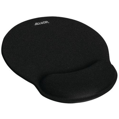 Tapis de souris repose poignet noir