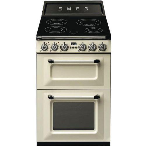 Cuisinière induction SMEG-TR62IP-60 cm-Crème