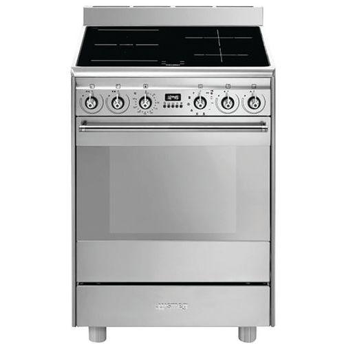 Cuisinière induction SMEG-SPSK60IX9-1-60 cm-Inox