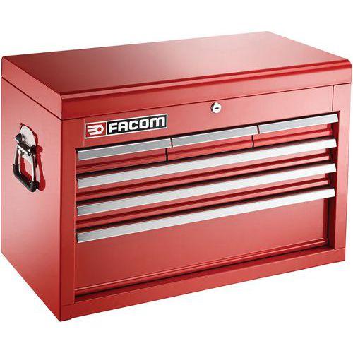 Coffre métallique 6 tiroirs
