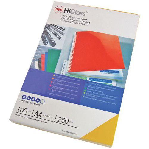 Couverture pour perforelieuse en PVC GBC HiGloss