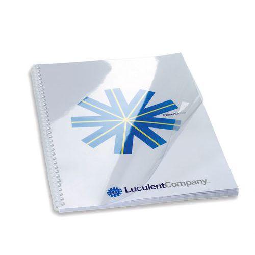 Couverture pour perforelieuse en PVC GBC HiClear