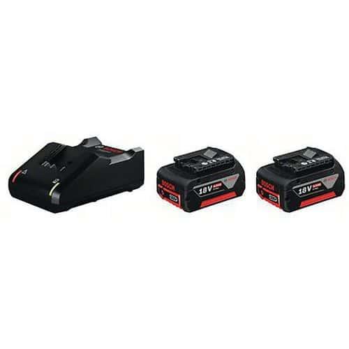 Batterie GBA 18v 4.0ah avec chargeur GAL 18v-40