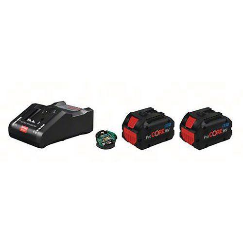 Batteries 2 procore18v 8.0ah avec chargeur GAL 18v-160