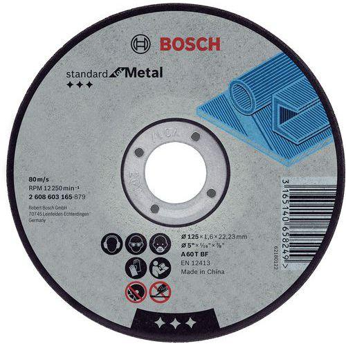 Disque à tronçonner Standard for Metal, 125 1,6 22,23 mm