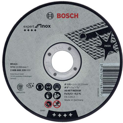 Disques à tronçonner Expert for Inox