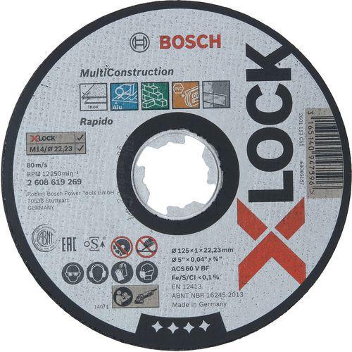 Disques à tronçonnerX-lock pour matériaux divers