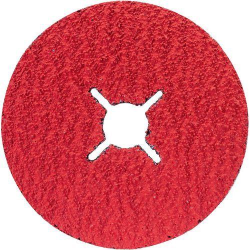Disques abrasifs sur fibres, R780, idéals pour le métal et l'inox