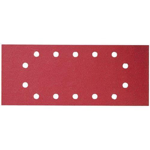 Feuille abrasive C430, dimensions 115 280 mm, 100 grain