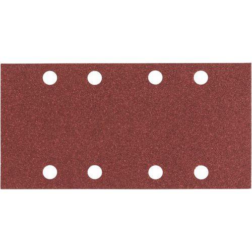Feuille abrasive C430, dimensions 93 186 mm, 80 grain