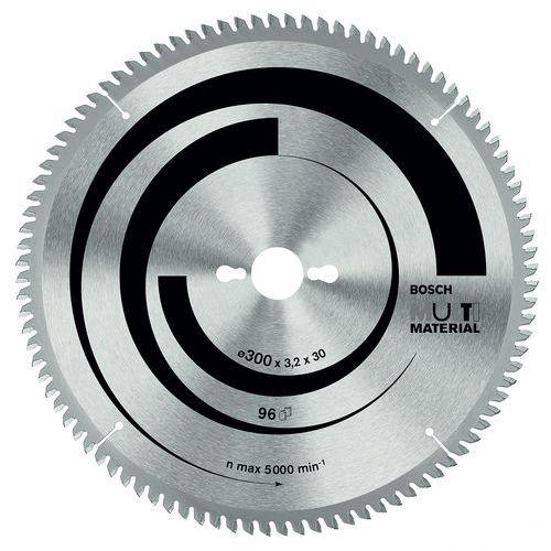 Lame de scie circulaire multi-matériaux 300 30 3,2 mm, 96