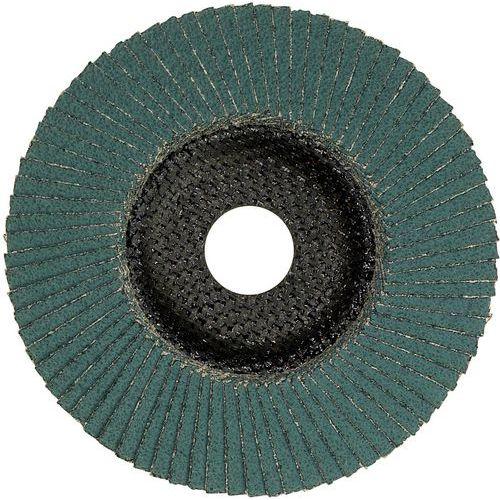 Plateau à lamelles X581, diamètre 125 mm, alésage 22,23 mm, 60 grain