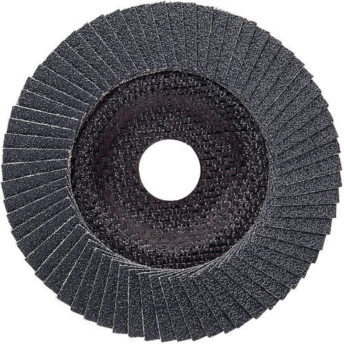Plateau à lamelles X571 pour métaux diamètre 180 mm, grain 40, coudé