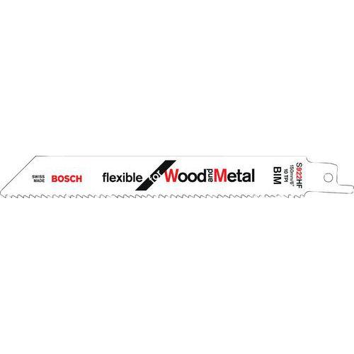 Lames de scie sabre – Flexible for bois et métal
