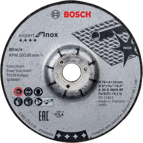 Meules à ébarber Expert for Inox pour GWS 12V-76 Professional