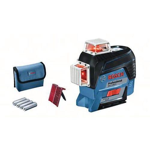Laser GLL 3-80 C (version piles)