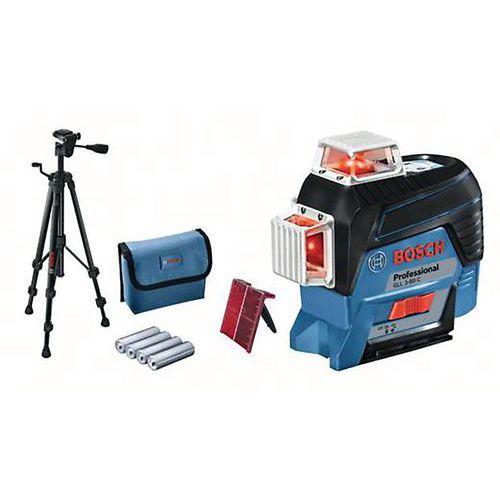 Laser GLL 3-80 C avec trépied bt 150 (version piles)