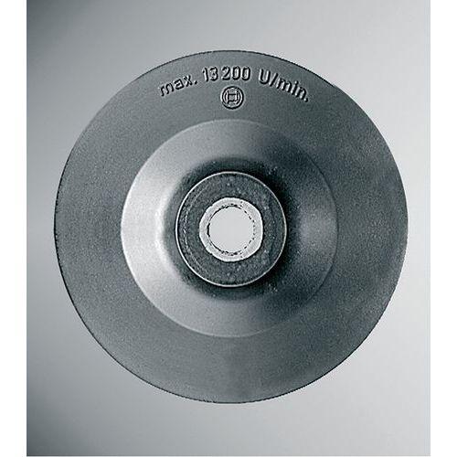 Plateaux de ponçage standard pour disques abrasifs sur fibres