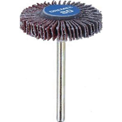 Roue a lamelles diamètre 28 mm ep. 4.8 mm grain 80