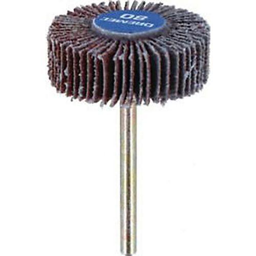 Roue à lamelles diamètre 28 mm ep. 9.5 mm grain 80