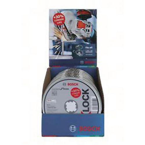 Disques Xlock std inox 125x1.6 plat