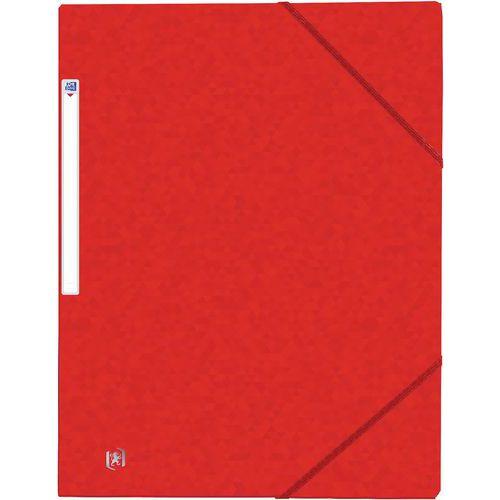 Chemise A4 3 rabats avec élastique TopFile - Carte lustrée