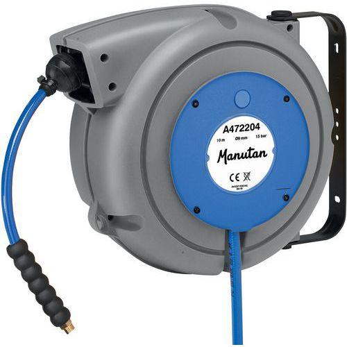 Enrouleur de tuyau air et eau - Manutan