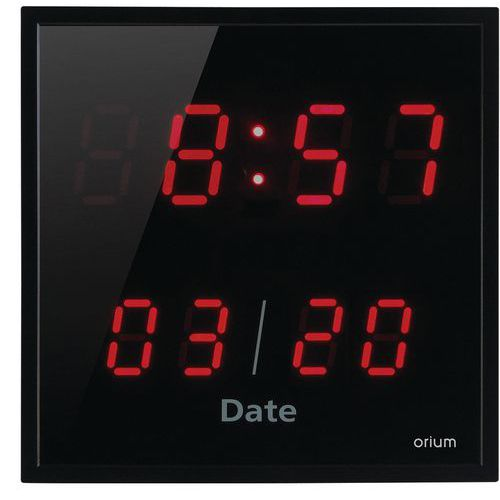 Horloge à LED rouge - Orium