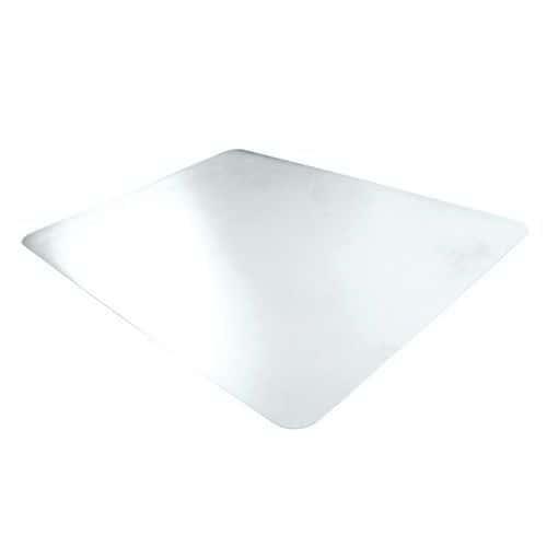 Tapis protège sol 120 x 90 cm - Transparent - Floortex