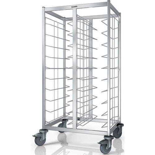 Chariots de débarrassage de plateaux TAW 2x10 EN_Blanco