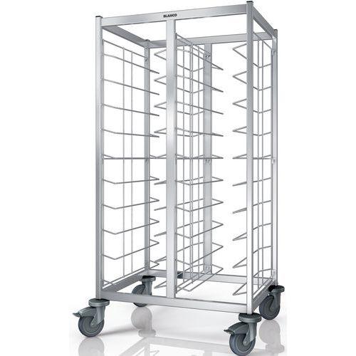Chariots de débarrassage de plateaux TAW 2x10 KN_Blanco