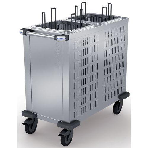 Distributeur d'assiettes 160 assiettes avec fents de refroidissement