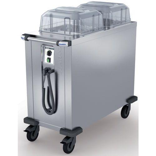 Distributeur d'assiettes chauffés env. 160 assiettes TS-H2 18-33