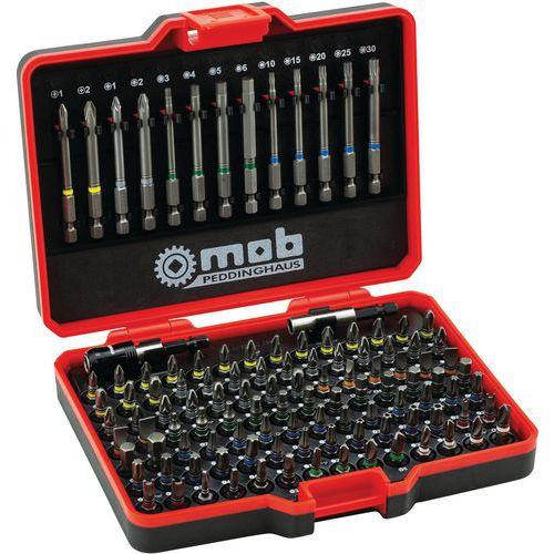 Kit d'embouts de vissage + porte-embout qualité S2_Mob