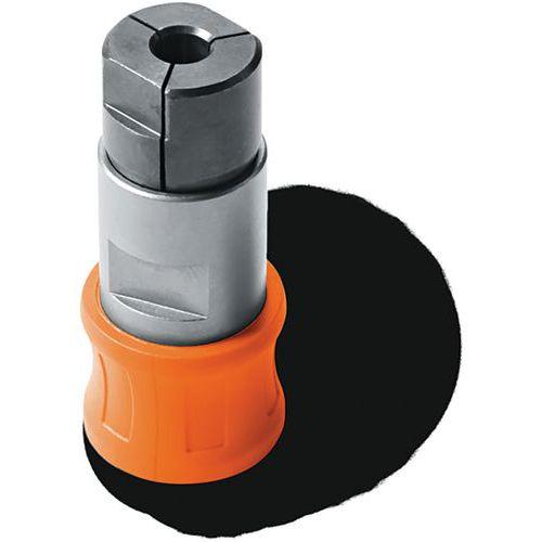 Adaptateur de taraudage avec 2pinces de serrage - FEIN