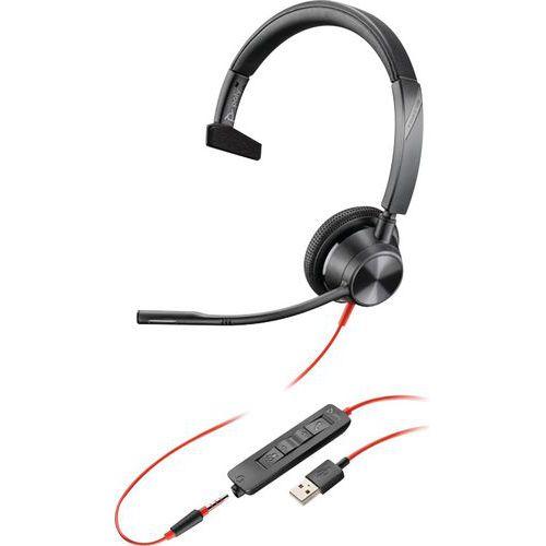 Casque USB-A jack 1 écouteurs BW3315